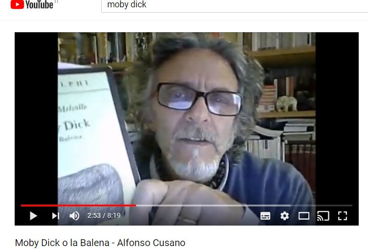 Moby Dick o la balena -video n. 18 https://www.youtube.com/watch?v=CCvGX48pK8Q&t=48s